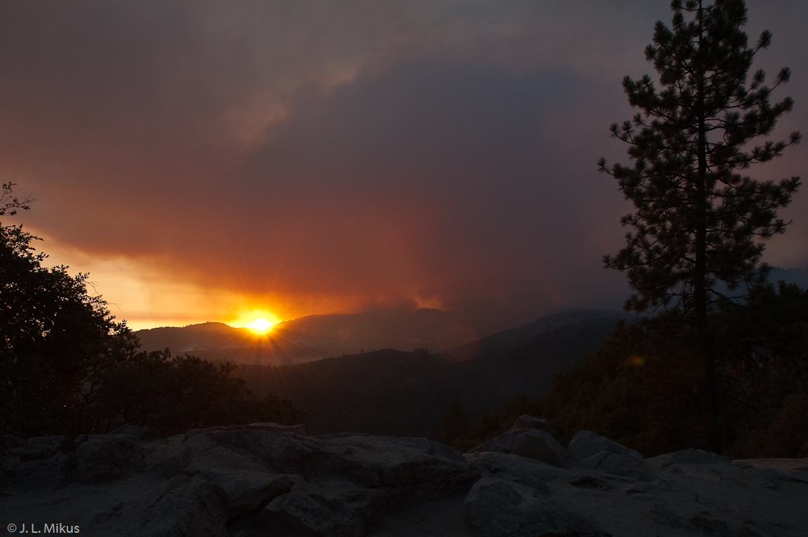 Yosemite on Fire-5