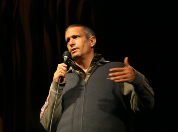 Andy Bichlbaum at the Telluride Mountain Film Festival