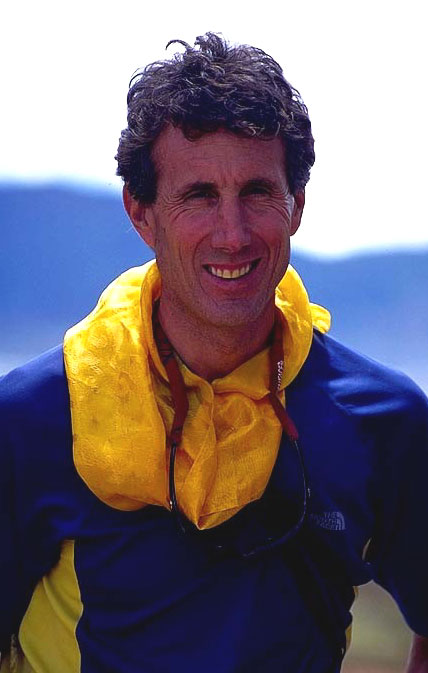 Mountaineer Peter Athans Photograph by Robert Mackinlay